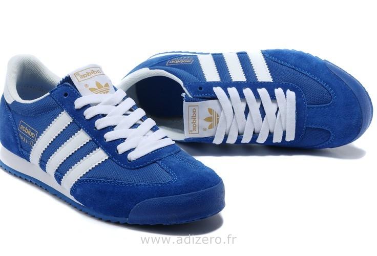 adidas originals dragon bleu homme