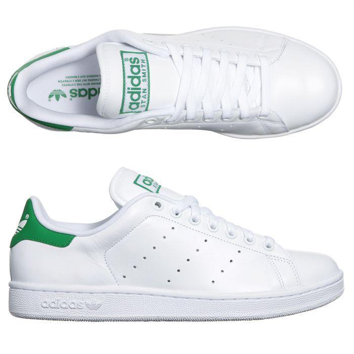 adidas stan smith homme blanc vert