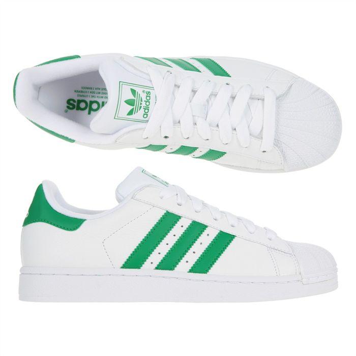 adidas superstar blanche et verte homme cheap buy online