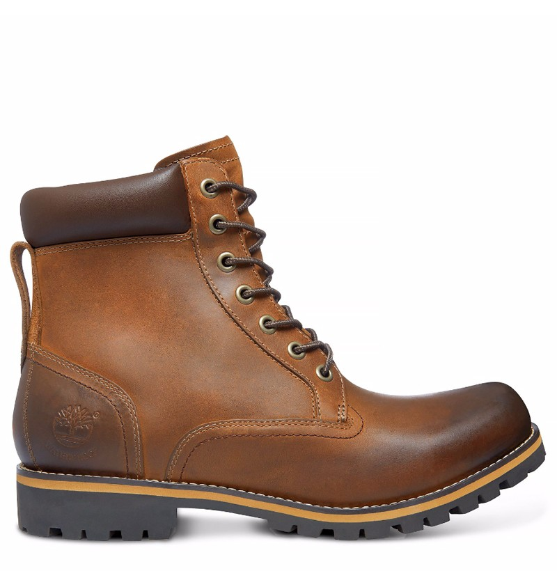 bottes homme cuir timberland